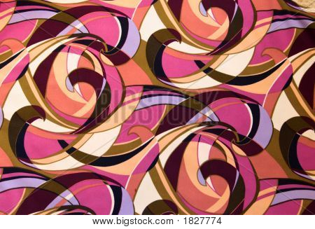 Curved Pattern On Cloth