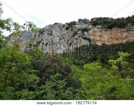 Parete San Paolo In Arco Rock Climbing Area