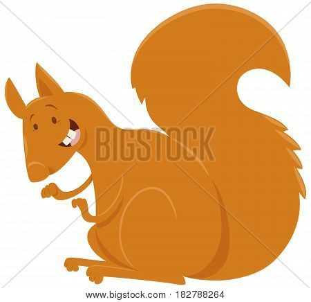 Squirrel Cartoon Animal Character