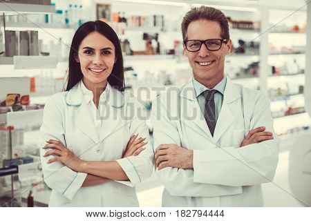 Couple Of Pharmacists