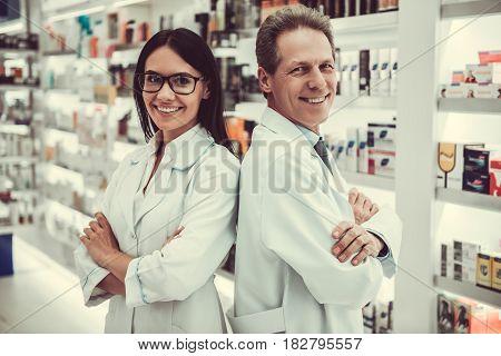 Couple Of Pharmacists