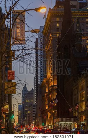 The Empire State Building From The Stree