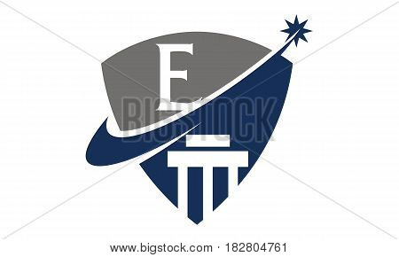 This vector describe about Justice Law Initial E