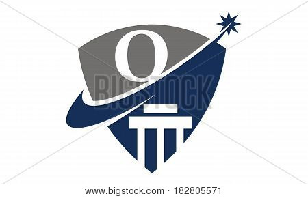This vector describe about Justice Law Initial O