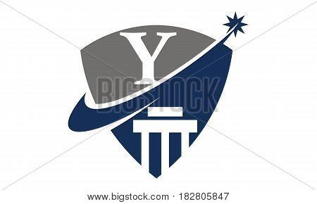 This vector describe about Justice Law Initial Y