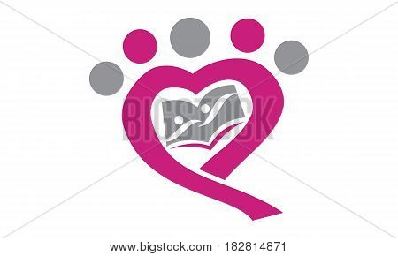 This vector describe about Parenting Love Group