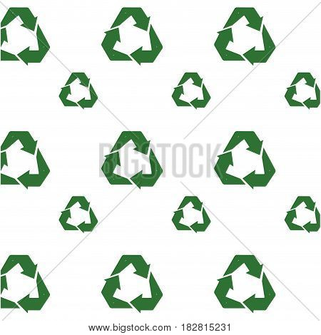 Recycle reuse and reduce icon vector illustration graphic design