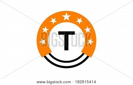 This vector describe about Star Union Initial T
