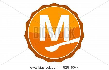 This Vector describe about Restaurant Letter M