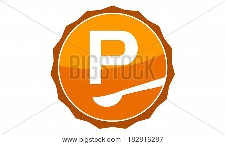 This Vector describe about Restaurant Letter P