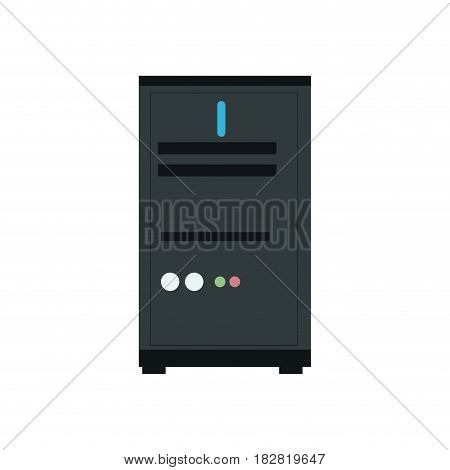 computer server device technology icon vector illustration eps 10