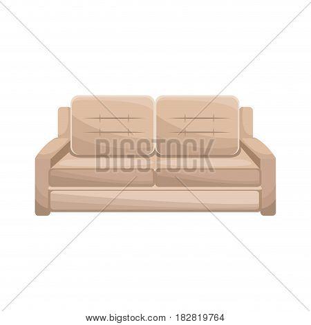 sofa furniture comfort image vector illustration eps 10