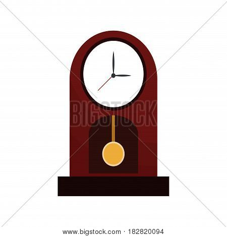 clock time watch pendulum vector illustration eps 10