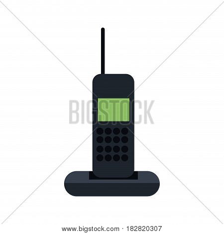 cordless phone communication device vector illustration eps 10