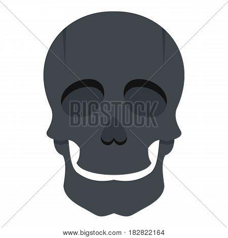 Singer mask icon flat isolated on white background vector illustration