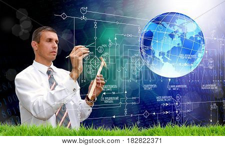 Scientific engineering technologies that change the weather.Development software