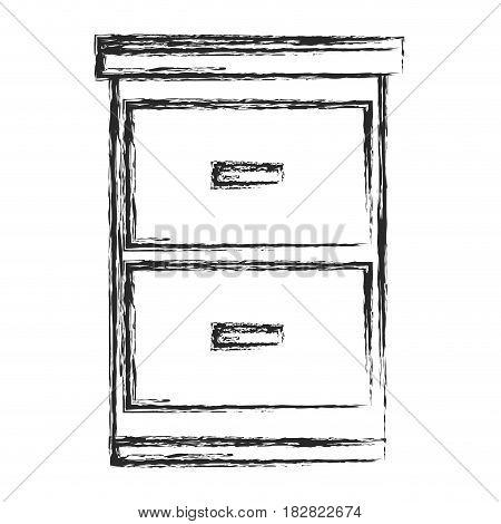file cabinet document sketch vector illustration eps 10
