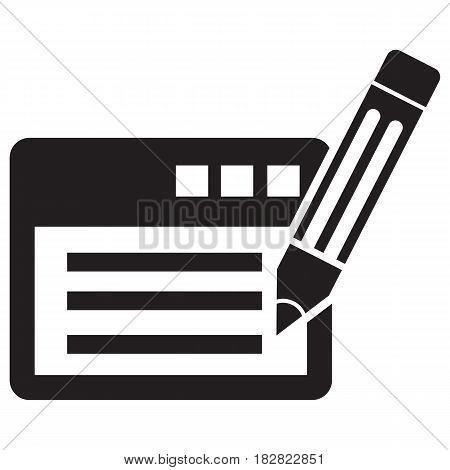 writing on paper Note Pad Letter Pencil Document Page