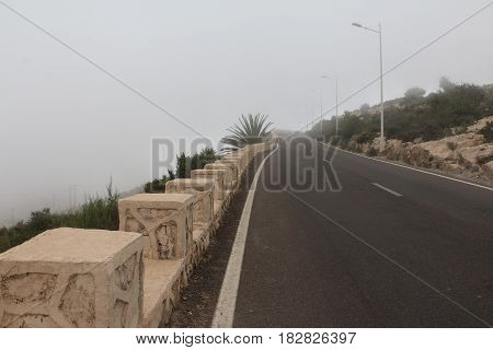 Road In The Mountains In A Day