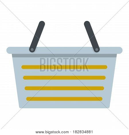 Flasket for dirty washing icon flat isolated on white background vector illustration