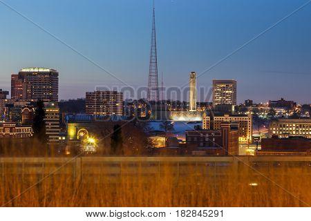 Kansas City panorama. Kansas City Missouri USA.