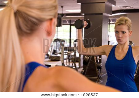 Woman Weightlifter 11