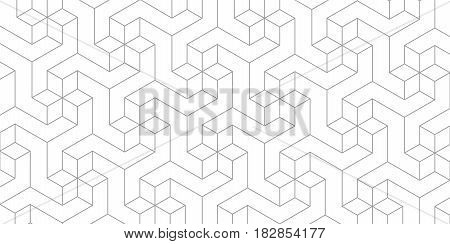 Unreal texture, gray cubes, 3d geometric pattern, design vector background
