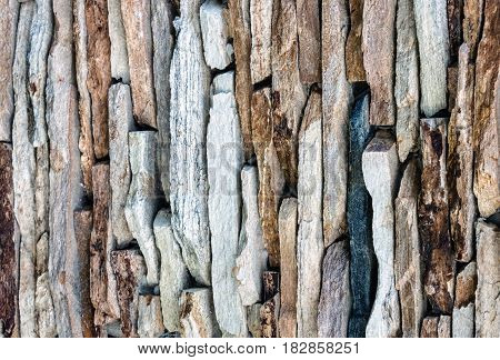 Background - texture of color stone wall.
