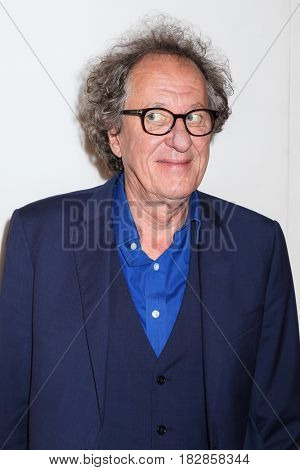 NEW VYORK, NT-APRIL 20: Actor Geoffrey Rush attends the 'Genius' Premiere during the 2017 Tribeca Film Festival at BMCC Tribeca PAC on April 20, 2017 in New York City.