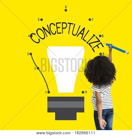 Idea Inspire Creativity Light Bulb Graphic Icon