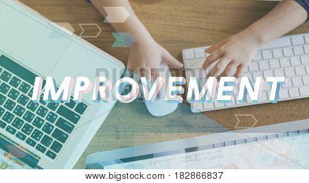Improvement Progress Growth Efficiency Word