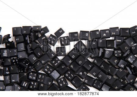 Black Keyboard Key Texture