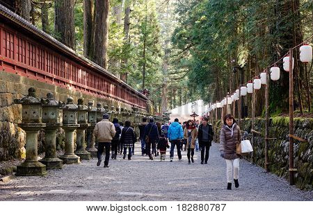 Ancient Shinto Shrine In Nikko, Japan
