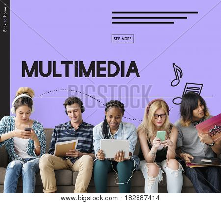 Multimedia Media Digital Music Video