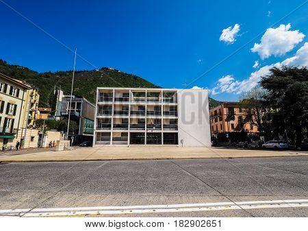 Casa Del Fascio In Como (hdr)