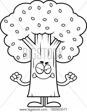Angry Cartoon Tree