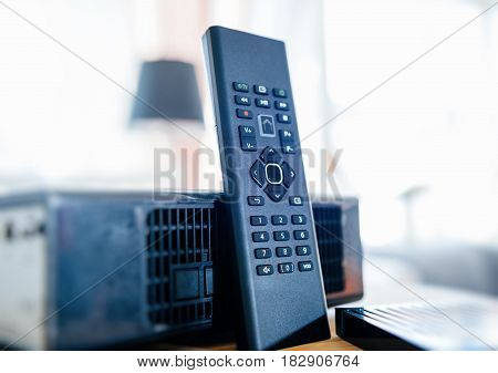 Internet Modem Tv Box Supplied By Internet Provider Company