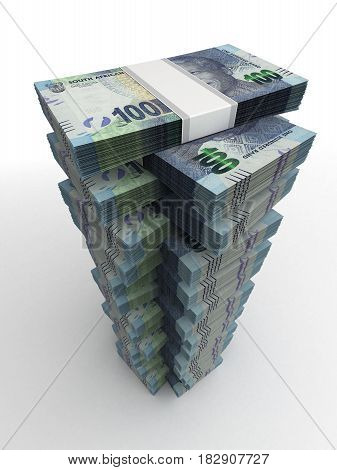 South African Rand Tower (computer generated image) 3D Rendering