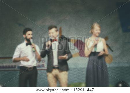 Performance People- Blur Art
