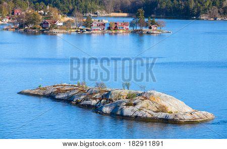 Swedish Rural Landscape, Small Island