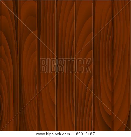 Vector illustration of wood texture. Natural Wooden Background.