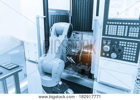 Robotic cnc Control system