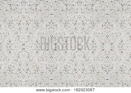 terrazzo floor or marble. beautiful old texture polished stone for background