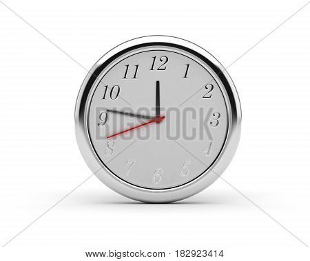 Round Wall Clock (computer generated image) 3D Rendering