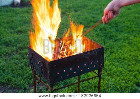 Brazier Fire Hand