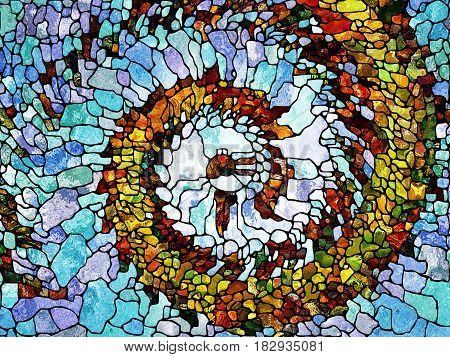 Unfolding Of Organic Pattern