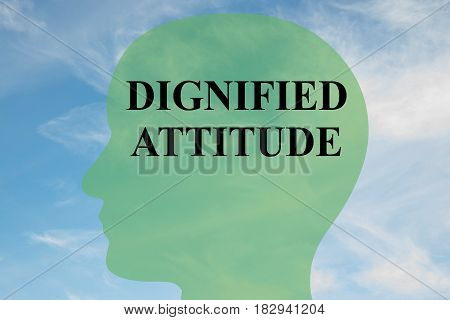 Dignified Attitude Concept