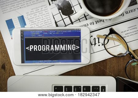 Programming Coding Software Application Program Word