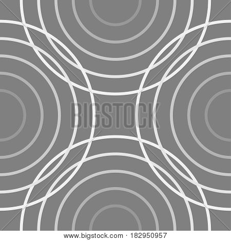 circle line overlapping shape monogram backgroundvector Illustration EPS10