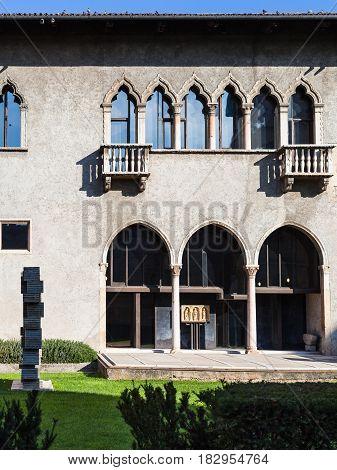 Museum House Of Castelvecchio (scaliger) Castel